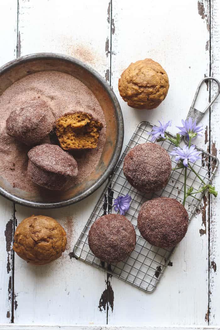 Cinnamon-Sugar-Pumpkin-Muffins from Love Grows Wild