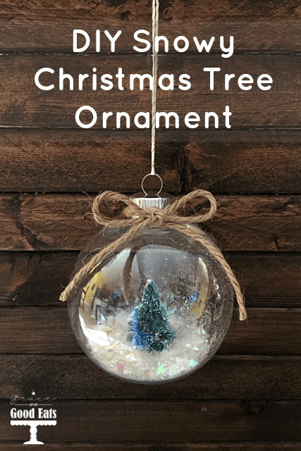 DIY-Snowy-Christmas-Tree-Ornament from Grace and Good Eats