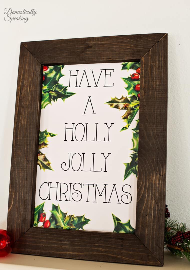 Have a Holly Jolly Christmas Printable