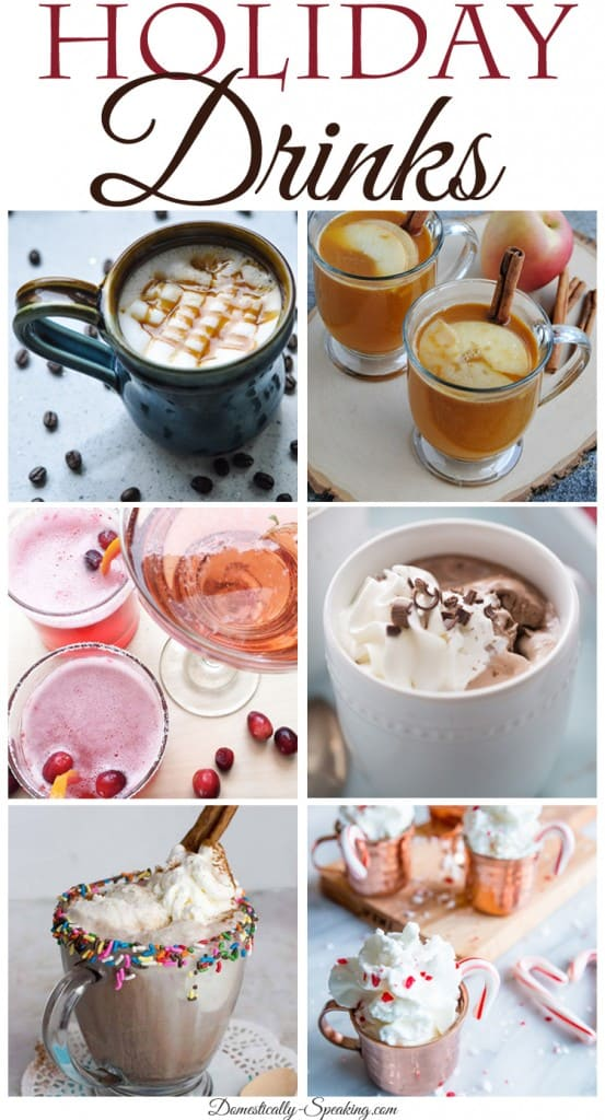 Holiday Drinks to carry you from Thanksgiving through New Years