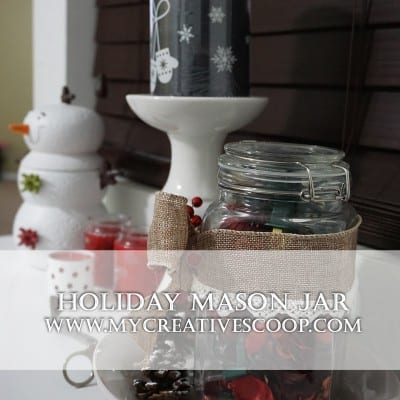 Holiday Mason Jar – 5 Minute Crafts