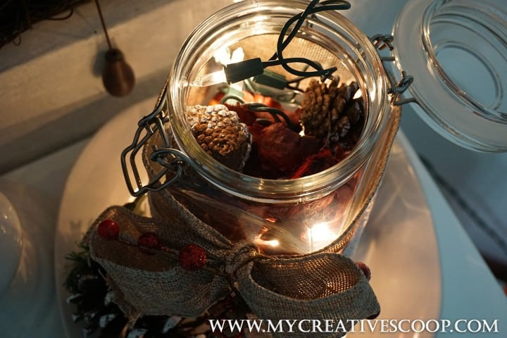 Holiday Mason Jar - 5 Minute Crafts