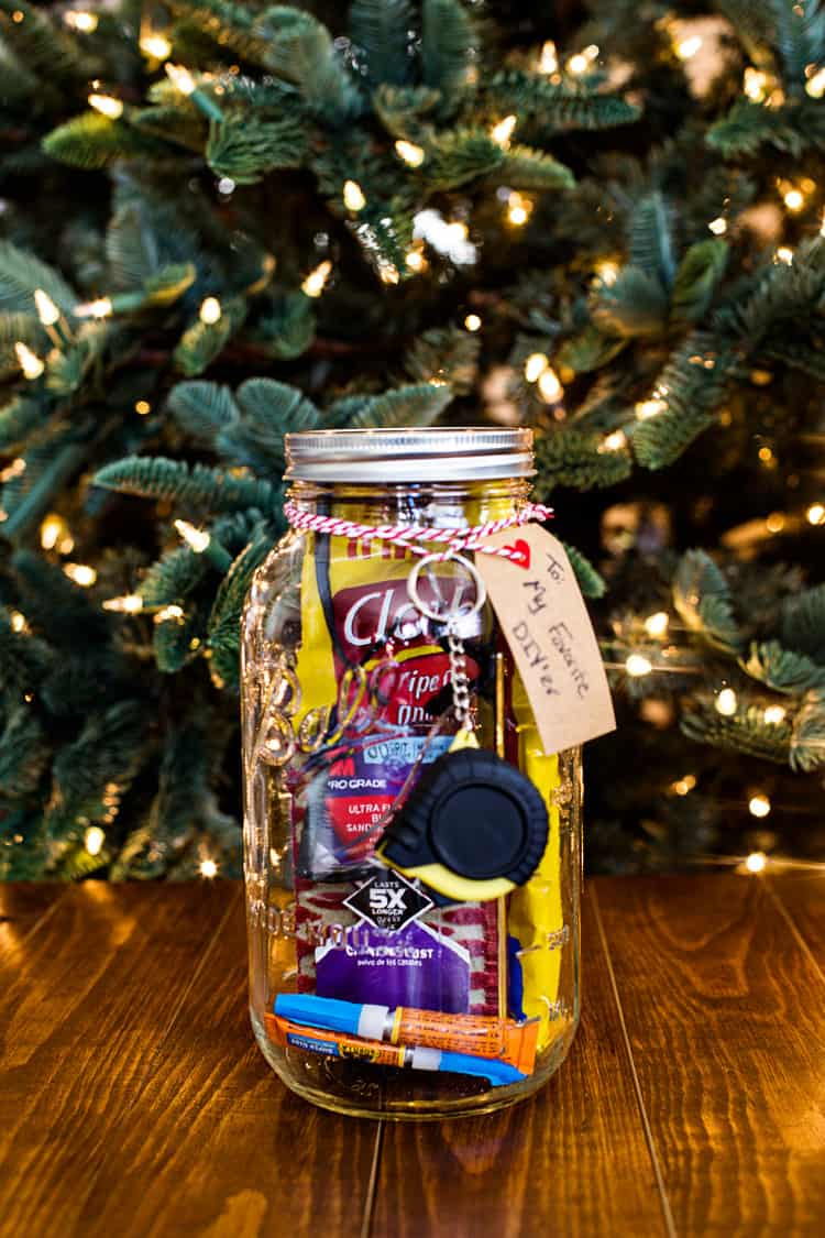 Mason Jar DIY Gift Idea 1