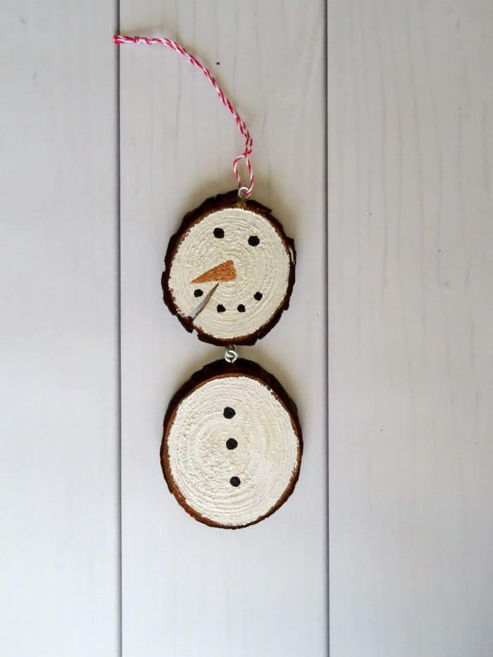 Rustic Wood Penguin Ornament from Living Lavida Holoka