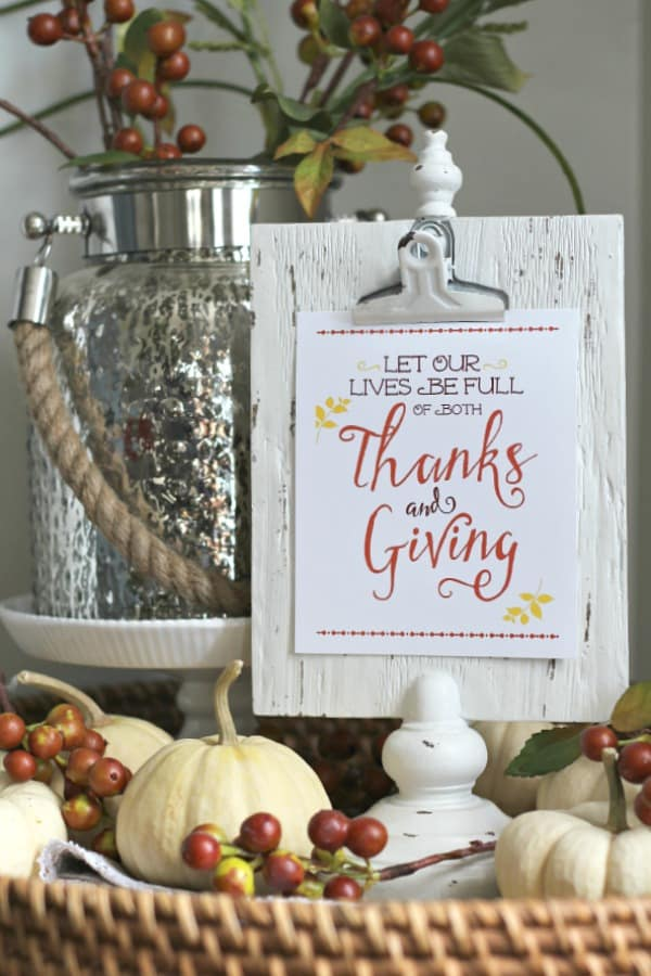 Thanksgiving-Printables from Clean and Scentsible