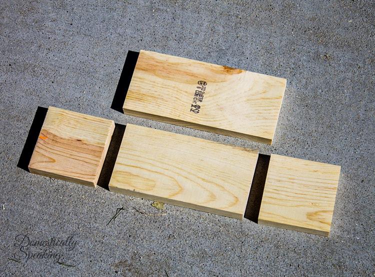 Whimsical Wooden Christmas Stocking Planter