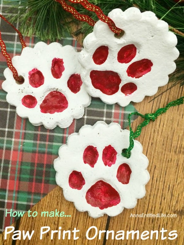 paw-print-ornaments from Anns Entitled Life
