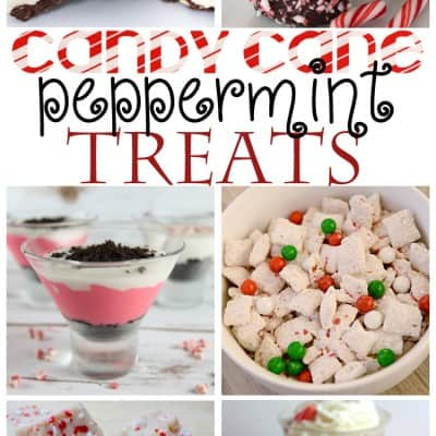 Candy Cane Peppermint Treats perfect for Christmas