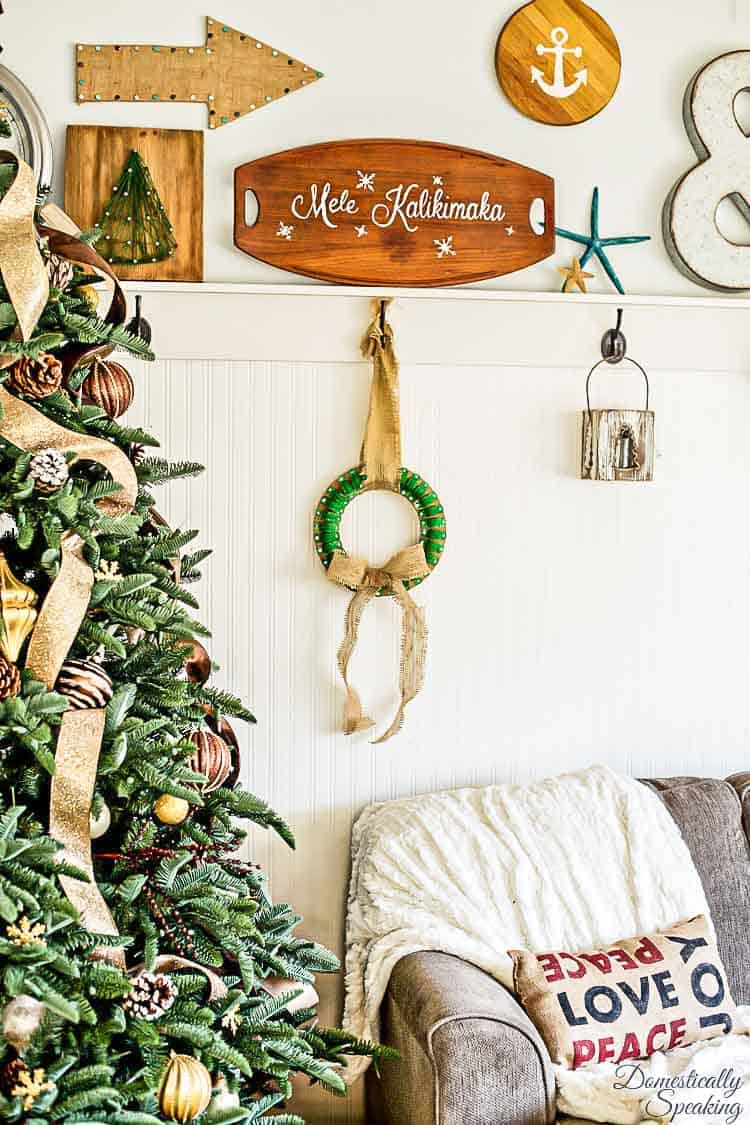 Clamp Christmas Wreath | Christmas DIY Project using Pipe Straps
