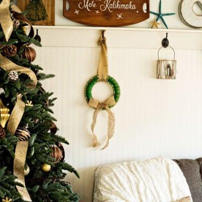 Clamp Christmas Wreath