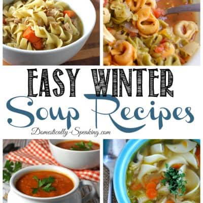 Easy Winter Soups