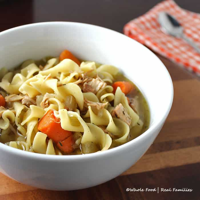 Slow-Cooker-Chicken-Noodle-Soup from Whole Food Real Families