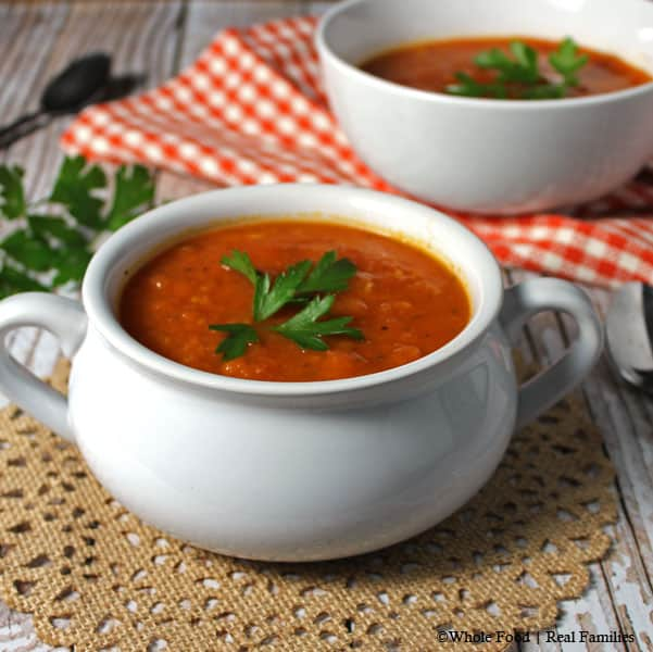 Tomato-Soup from Whole Food Real Families