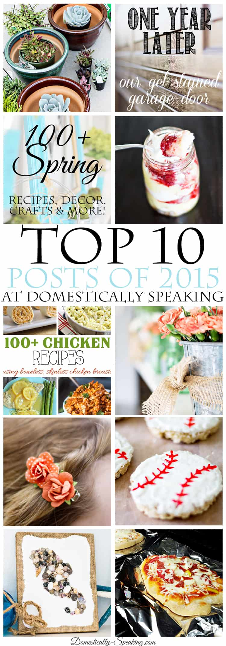 Top Ten Posts of 2015 from Domestically Speaking