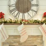 Drop Cloth Grain Sack Stockings | LITTLE RED BRICK HOUSE