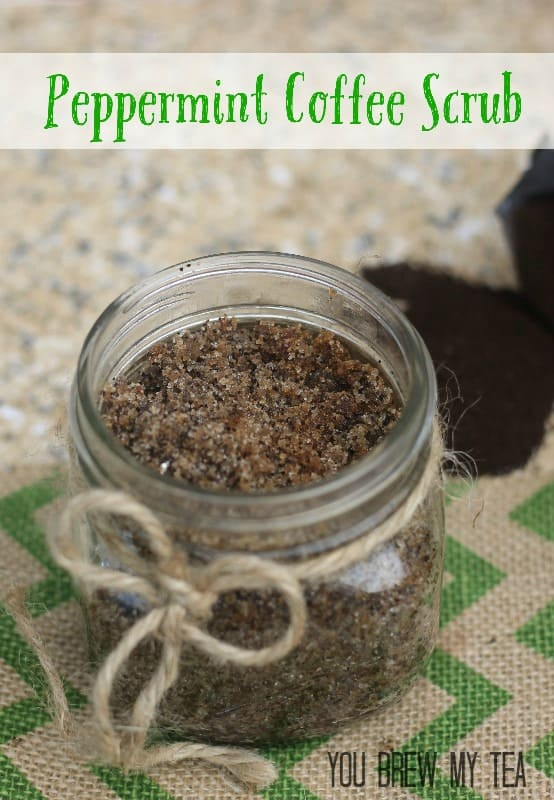 peppermint-coffee-scrub from You Brew My Tea