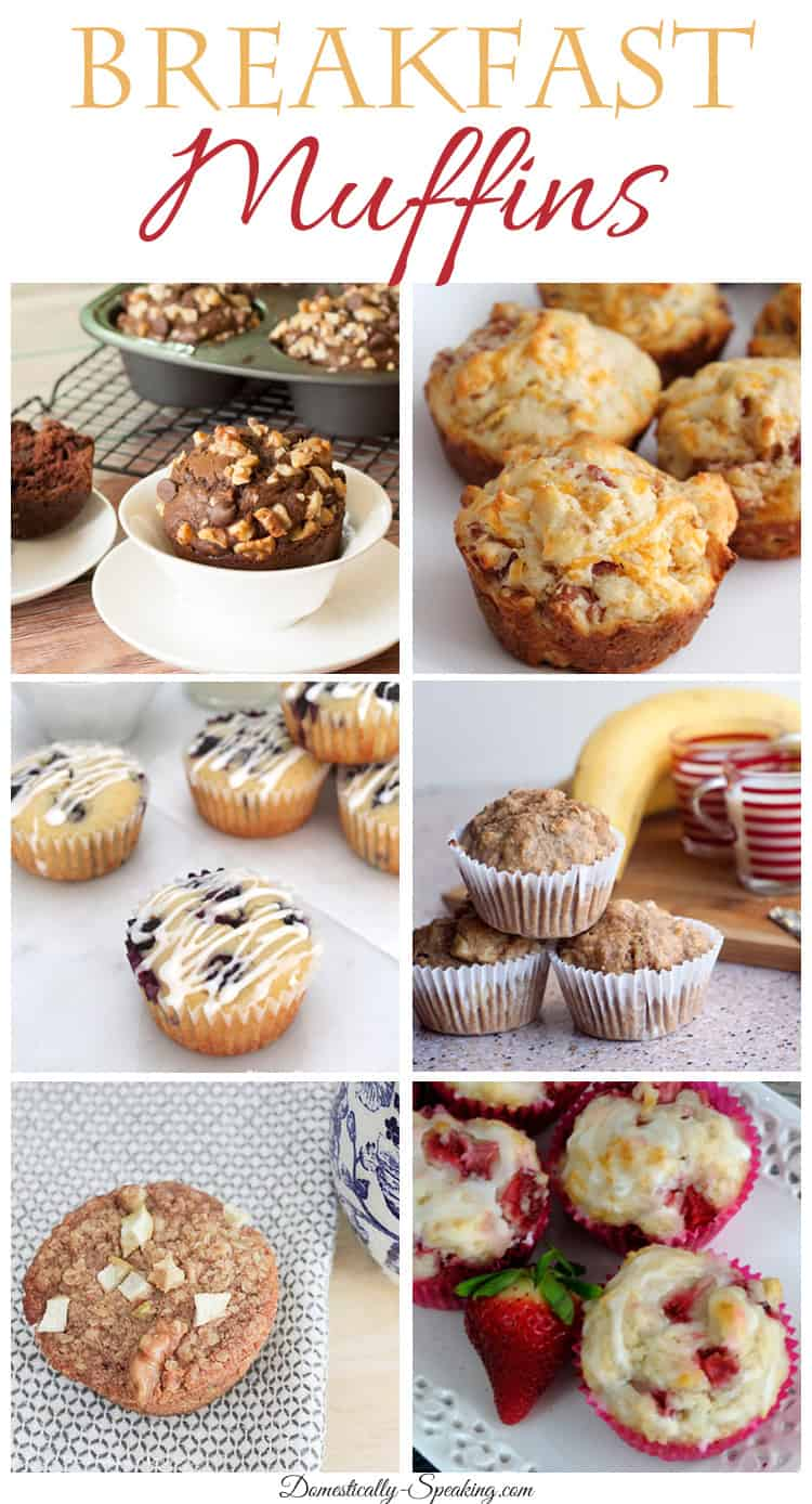 Breakfast Muffin Recipes the perfect quick breakfast idea - grab and go!