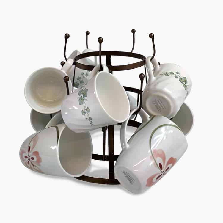 Countertop Mug Storage
