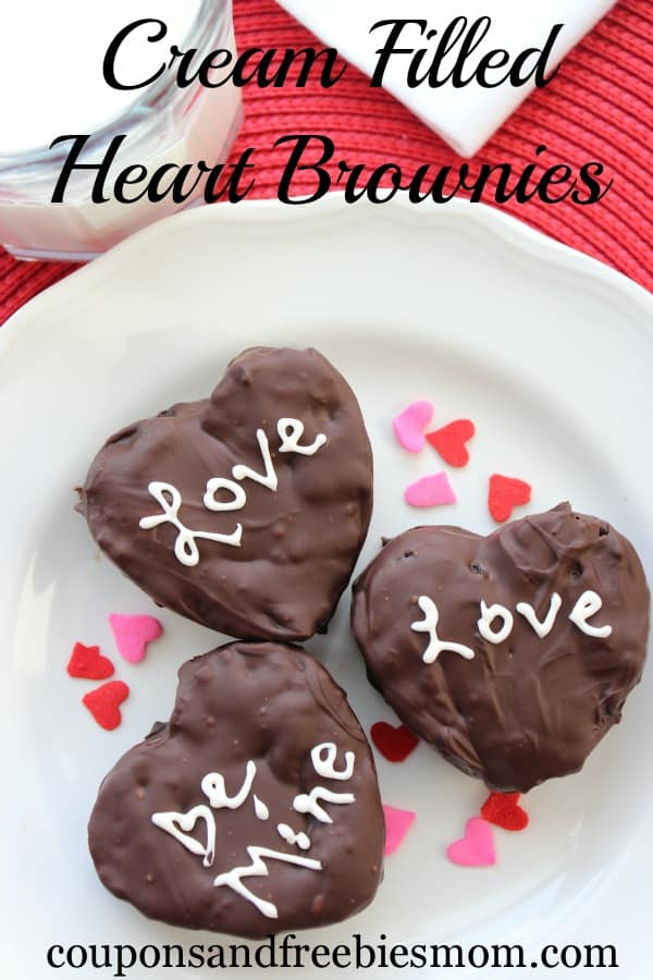 Cream-Filled-Heart-Brownies from Coupons and Freebies Mom