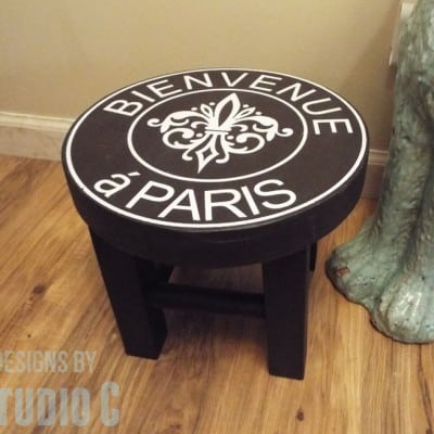 How to Create a DIY Ballard Designs Knock-Off Stand or Stool