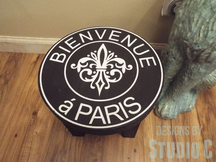 Easy to Build Ballard Inspired Stool get the complete plans to make your own