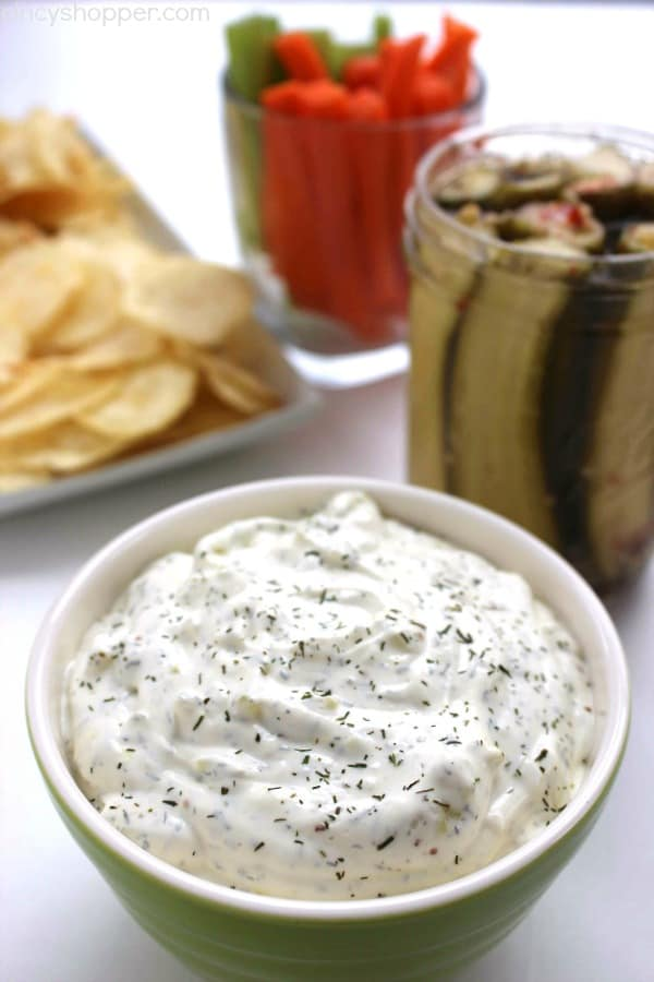 Dill Pickle Dip from Cincy Shopper