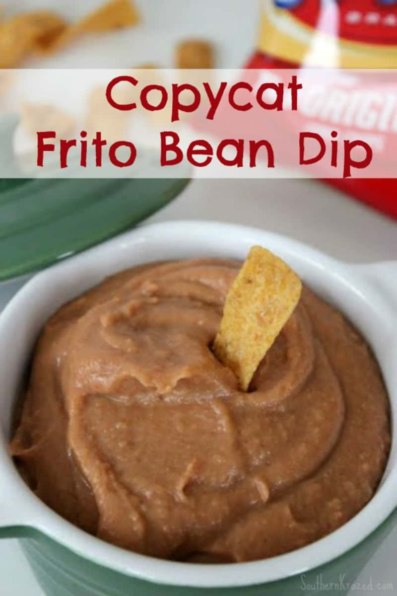 Easy-Copycat-Frito-Bean-Dip from Southern Krazed