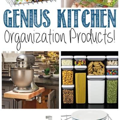 Genius Kitchen Organization Products