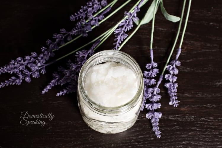 Homemade Body Scrub Recipe | Vanilla Lavender