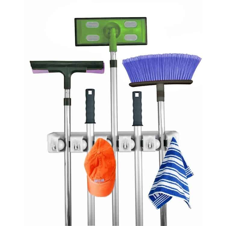 Kitchen Broom and Mop Holder