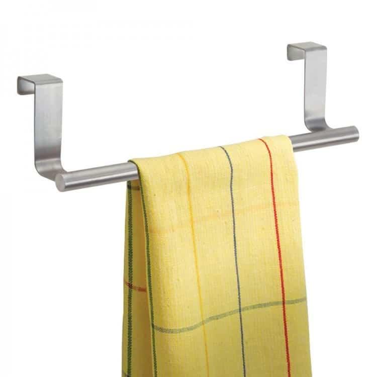 Over the Door Kitchen Towel Bar
