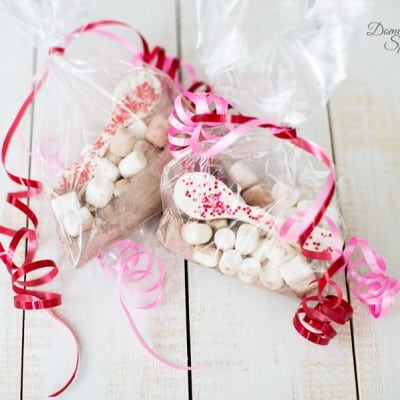 Hot Chocolate Spoon Gift for Valentine's Day