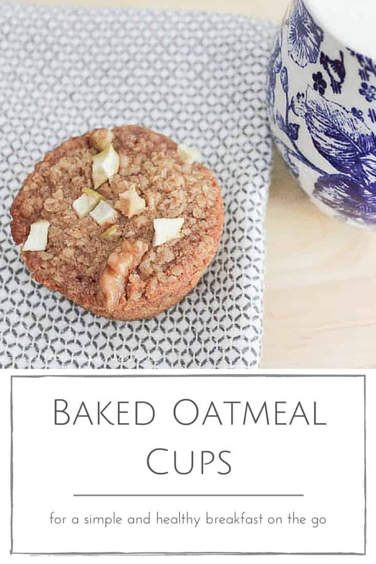 for-a-simple-and-healthy-breakfast-on-the-go Baked Oatmeal Cups from Making it in the Mountains