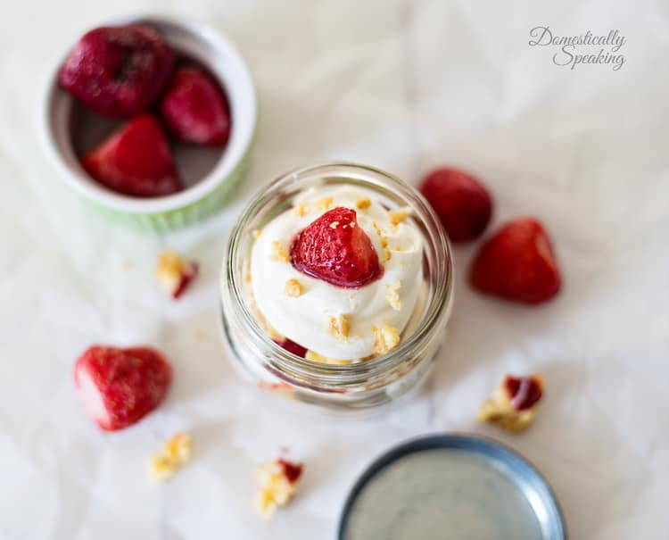 Easy Trifle with Strawberry Cheesecake Bars