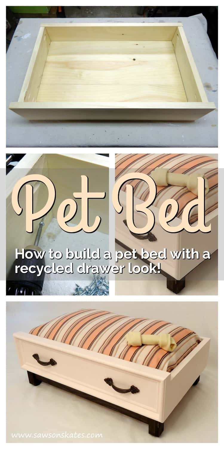 How To Make A Diy Dog Bed With A Recycled Drawer Look Domestically Speaking