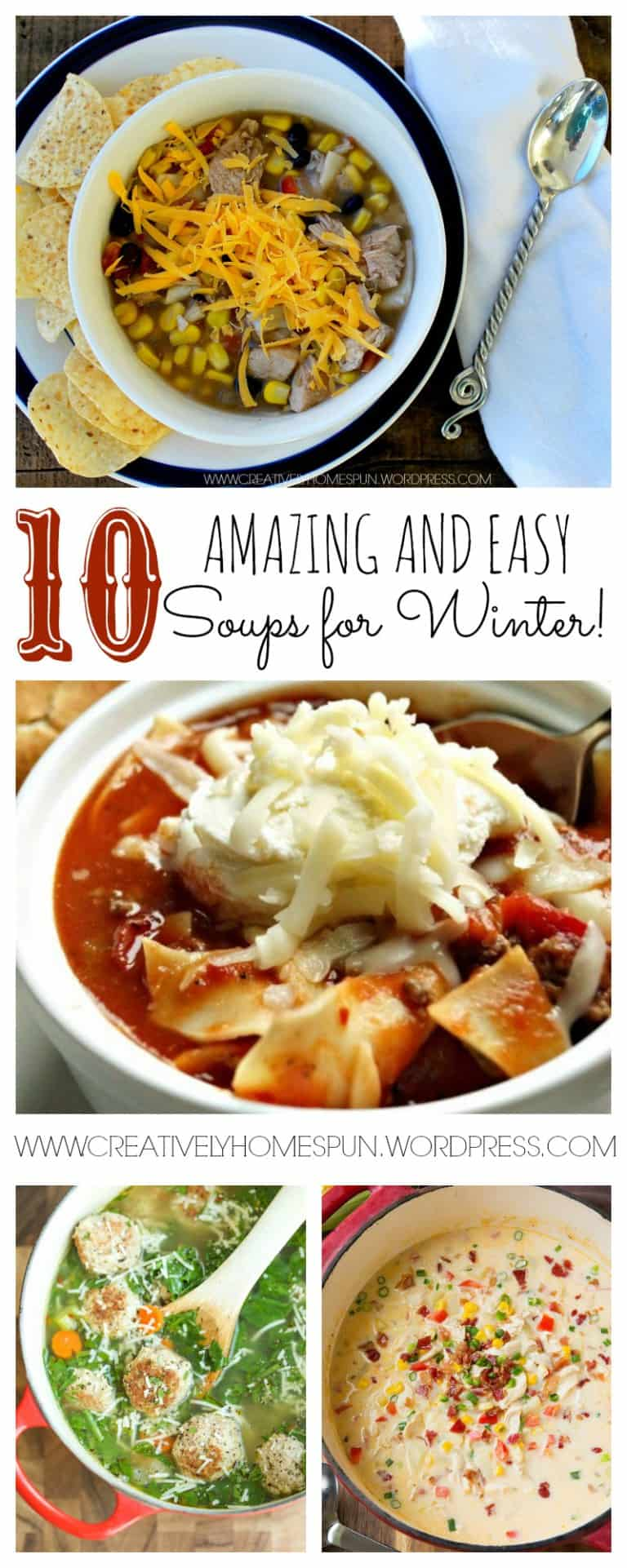 10 Amazing and Easy Soups for Winter