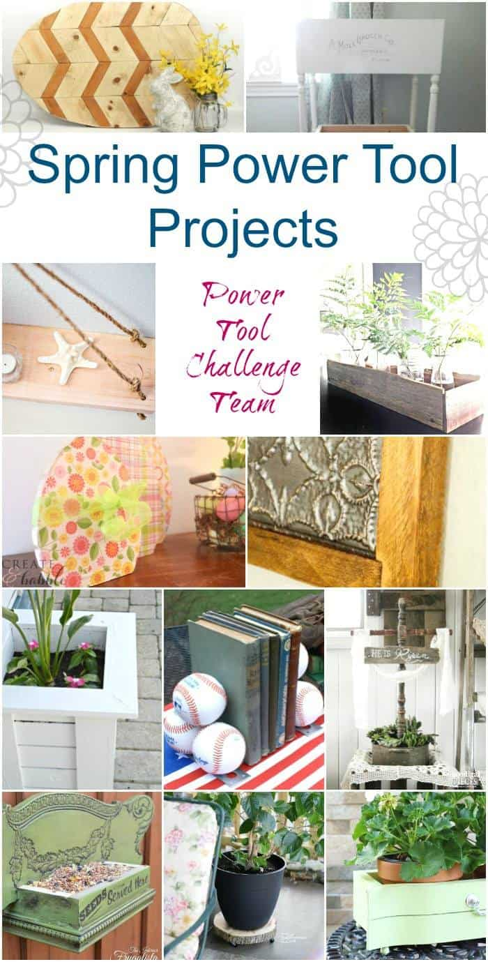 Great SPRING Projects with DIY Tutorials - you can build with Power Tools