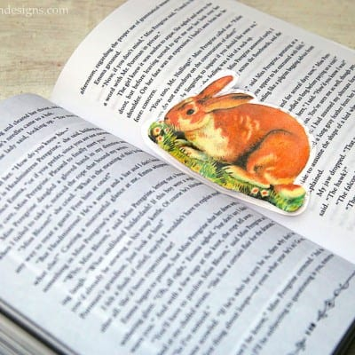 Vintage Animal Bookmarks