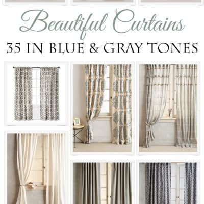 35 Beautiful Curtains