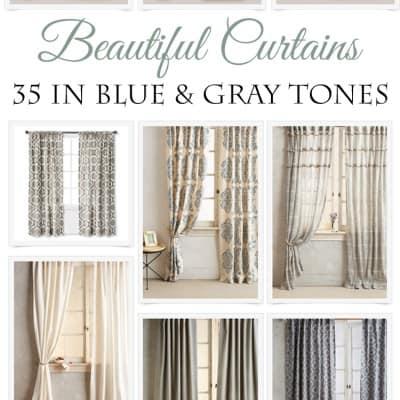 35 Beautiful Curtains