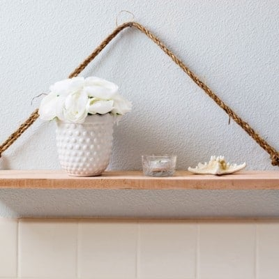 Wooden Swing Shelf