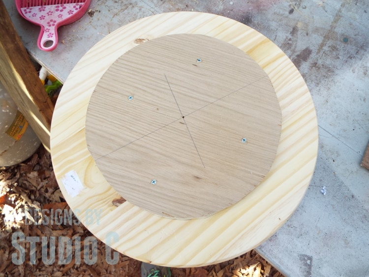 Building Your Spool Side Table