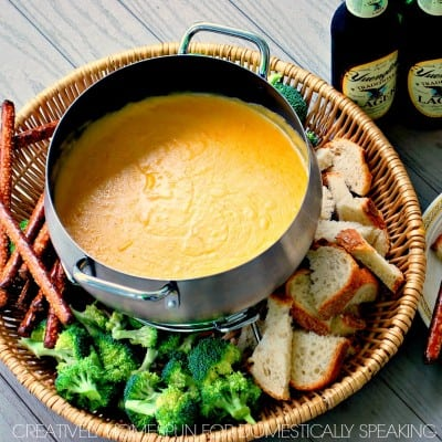 Fabulous Beer Cheese Fondue Recipe