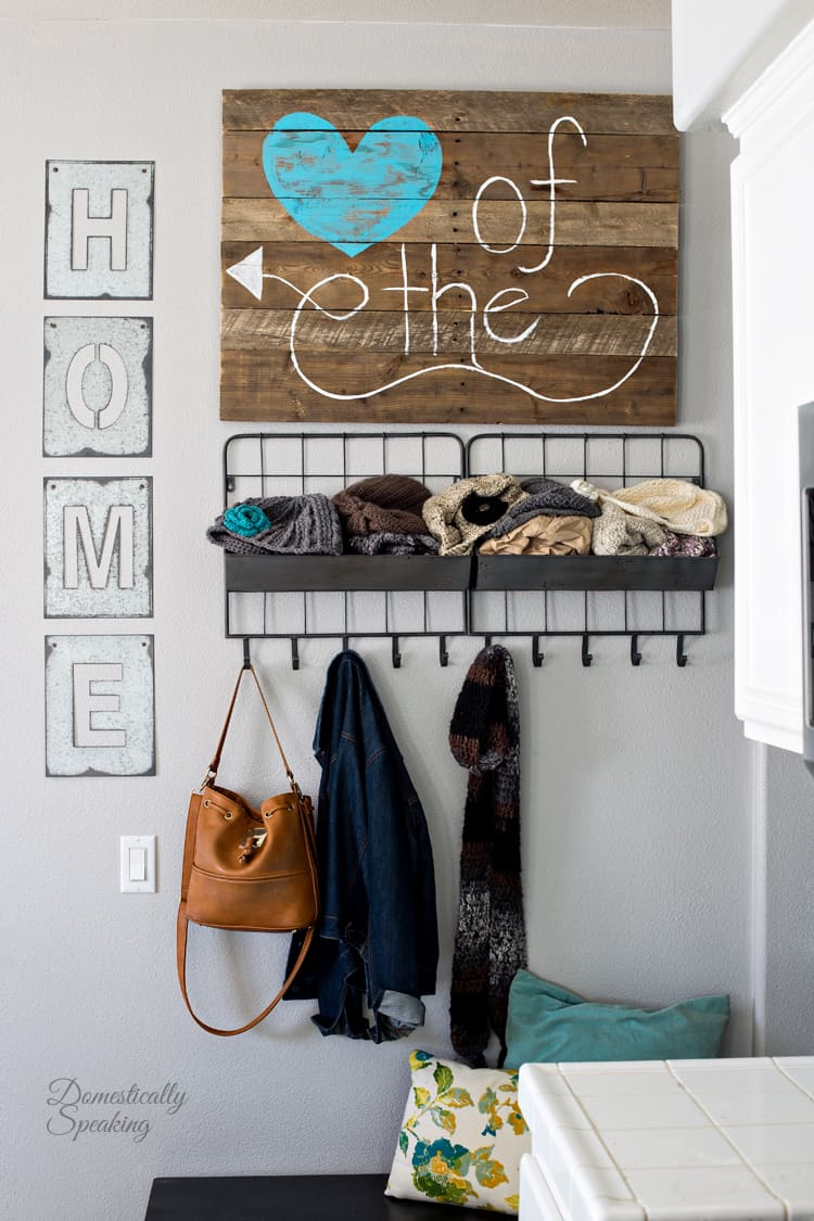 Heart of the Home Pallet Sign