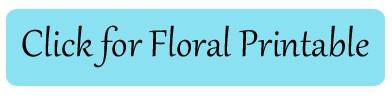 floral printable button