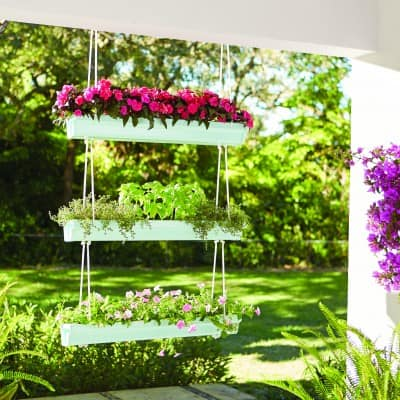 Hanging Gutter Planter | Signup for a Free DIH Workshop
