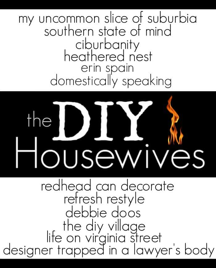 DIY Housewives a monthly roundup of amazing DIY projects