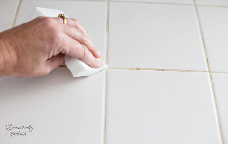 How to get your tile grout clean the easy way