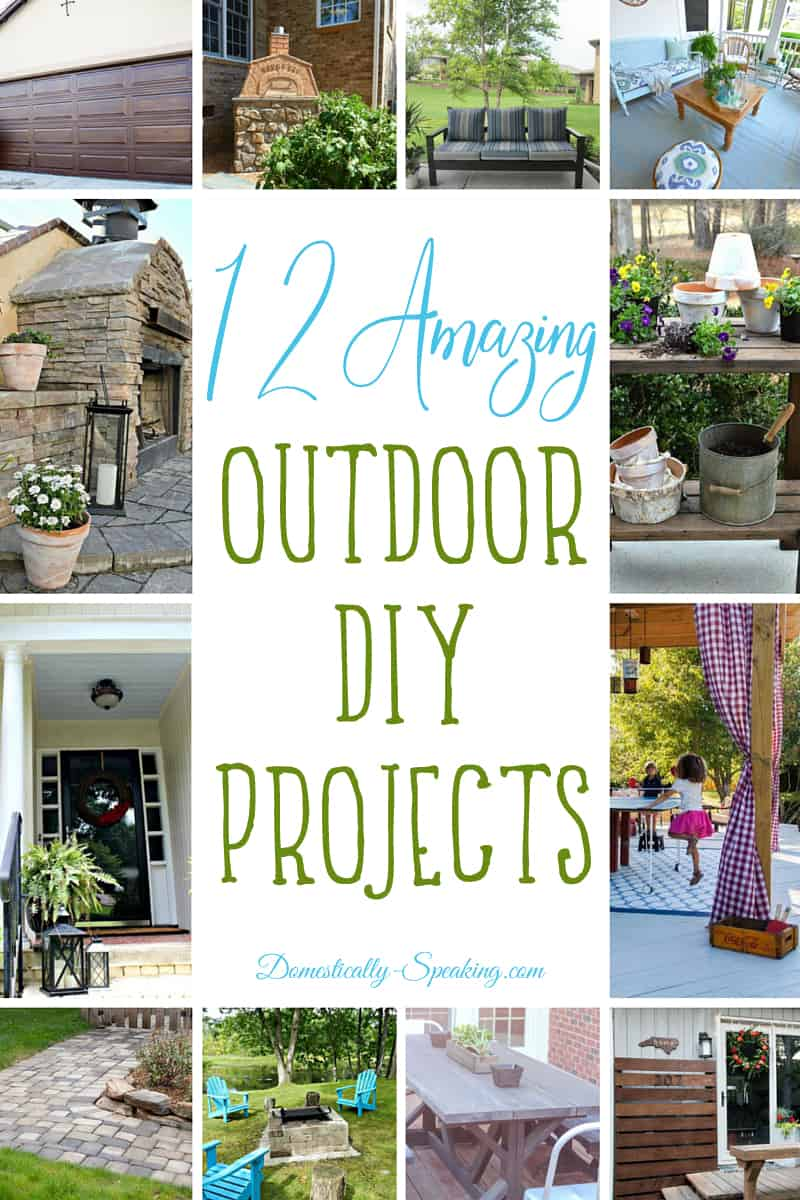 12 Amazing Outdoor DIY Projects