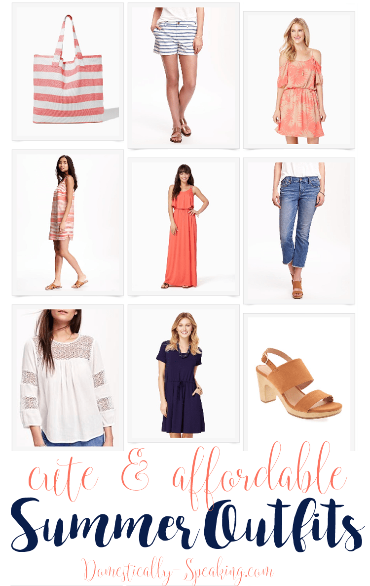 Cute and Affordable Summer Outfits